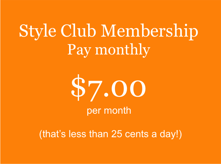 NEW $7 Monthly Payment Art